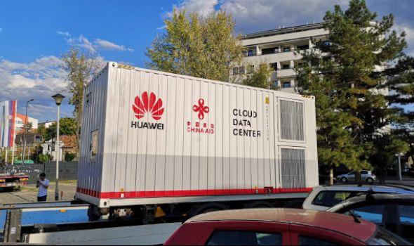 """""""Huawei"""" oprema stigla u Kragujevac, Gradski data centar pušta se u rad sredinom novembra (FOTO)"""