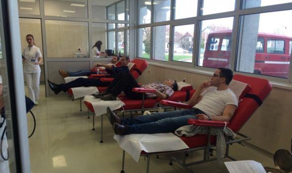 Daj krv, osećaj se kraljevski! SPO prikupio 20 jedinica krvi
