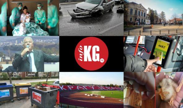 """InfoKG 7 dana: Rotaraktovci, udes, Betula, eKG, kontejneri, """"Čika Dača"""", pile..."""