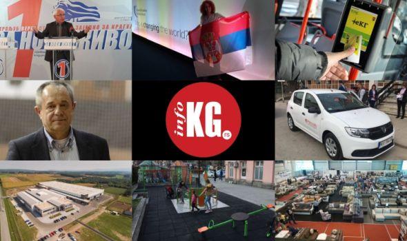 InfoKG 7 dana: Stevanović, Katarina, eKG kartice, probni popis, nesvakidašnji porođaj, Siemens...