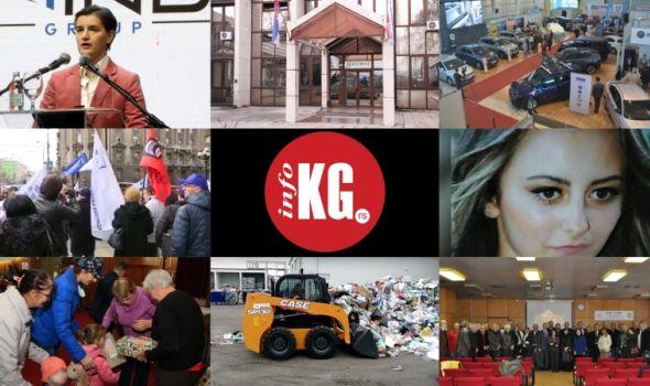 "InfoKG 7 dana: Brnabić, rektor, štrajk, Sara, Škoti, nova mehanizacija, ""zlatni indeksi"", budžet…"