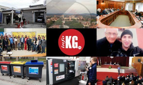 InfoKG 7 dana: Porodilja, izvršitelji, Univerzitet, zemljotres, tuča, Resnik, CNC, SG...