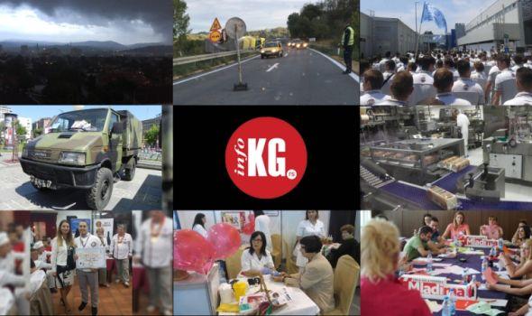 "InfoKG 7 dana: Nevreme, šleper, igrališta ""blizanci"", Fiat, Zastava tervo, nova fabrika…"