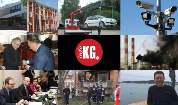 "InfoKG 7 dana: FILUM, ""pauk"", mrak, kamere, rektor, ambasador, požar, većnik…"