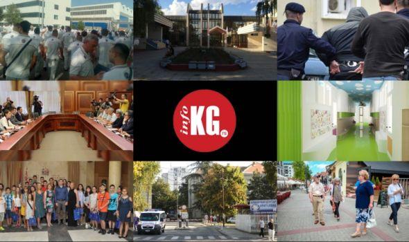InfoKG 7 dana: Fiat, Univerzitet, akcija Ares, Aviončić, razmena učenika, Klinički centar…
