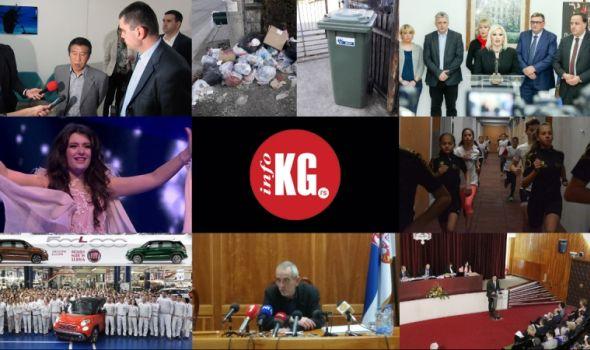 InfoKG 7 dana: CMEC, smeće, Koridor 10, Danica, Fiat, Senat, krediti...