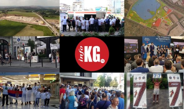 "InfoKG 7 dana: Industrijski park, jezero Bubanj, rijaliti, Data centar, Teodora, ""Vodovod"", Goran Nikolić..."