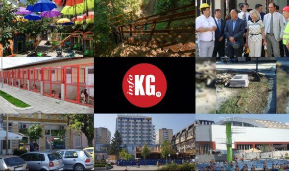 "InfoKG 7 dana: ""Čili i Vili"", vodopad, Šarčević, granata, hotel ""Kragujevac"", skakaonica, upucavanje…"