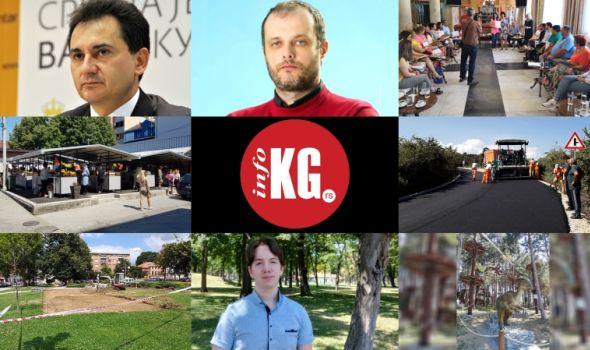 InfoKG 7 dana: Đelić, Matić, pijaca Bubanj, Siemens, eKG, putevi, igrališta, Golubović, Avantura park...