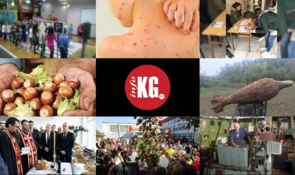 InfoKG 7 dana: Male boginje, Ferrero, mina, Drvo generacije, Zastava oružje…