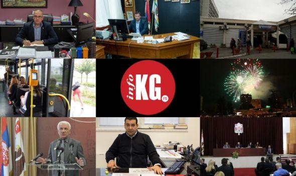 "InfoKG 7 dana: JKP ""Šumadija"", rektor, Klinički centar, Bus plus, ""Sigit"", burna sednica SG..."