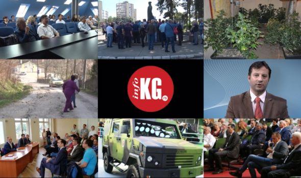InfoKG 7 dana: Naučnici, narkotici, Ždraljica, Filipović, prevoznici, burna sednica SG…