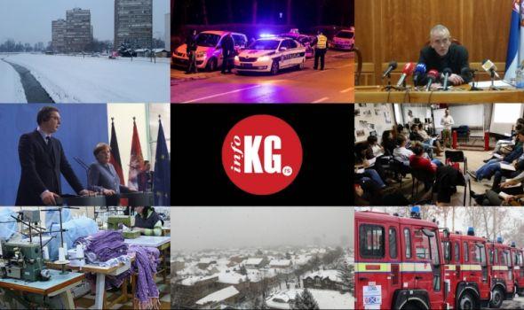"""InfoKG 7 dana: Sneg, """"divlji"""" taksisti, Arsenijević, Merkelova, Turci, popis…"""