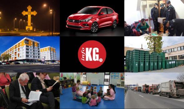 "InfoKG 7 dana: Krst, ""Cronos"", ""Smallville"", ""Aviončić"", Stevanović, štrajk…"
