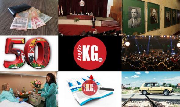 InfoKG 7 dana: Plate, SG, Studentski centar, portret, 50 najmoćnijih, Nova godina, Jugo...
