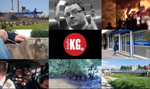 "InfoKG 7 dana: Energetika, Perica, autobus, ""Čika Dača"", zlostavljanje, veridba, mečka, Ćiftina ćuprija…"