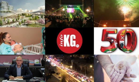 InfoKG 7 dana: Razvojne investicije, Nova godina, 50 najmoćnijih, Dimitrijević, kolaps, venčanja-razvodi...