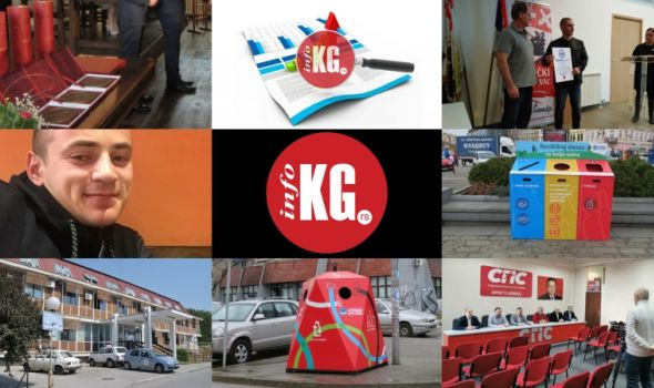 InfoKG 7 dana: Đurđevdanska nagrada, nesreća, rekord, Ginisovac, potraga, Origami, SPS...