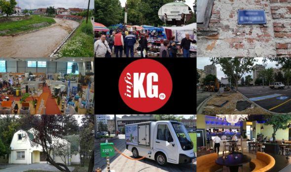 InfoKG 7 dana: Poplave, vašar, ulica, vrtići, policajci, Fiat, elektromobil, Picador...