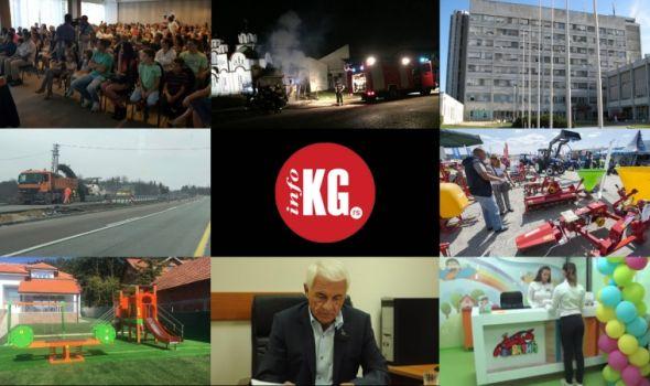 InfoKG 7 dana: Požar, besplatni pregledi, autoput, Sajam poljoprivrede, ZZŠ…