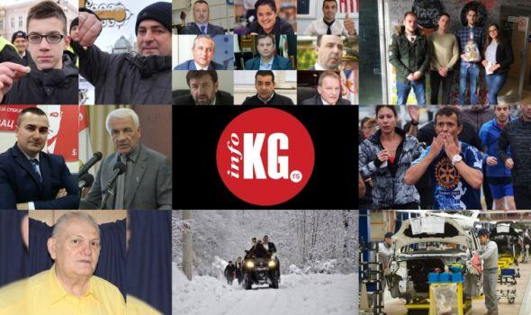 InfoKG 7 dana: Božić, nova lica, intervjui, ginisovac, Gutman, venčanje, Fiat...