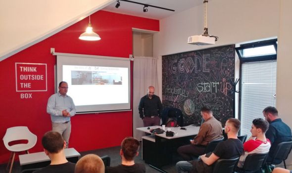 IT ekspert iz Izraela Majkl Mizrahi u radnoj poseti Kragujevcu