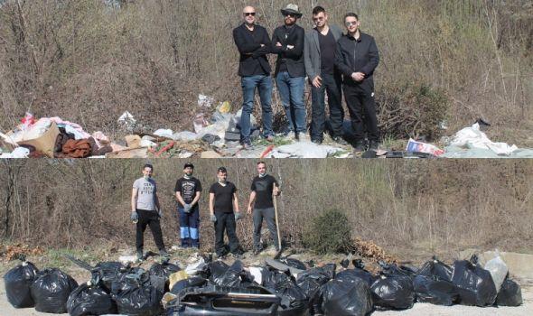 BRAVO: Prihvatili izazov sa društvenih mreža, očistili divlju deponiju (FOTO)