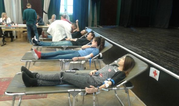 Kragujevački studenti prikupili 190 jedinica krvi