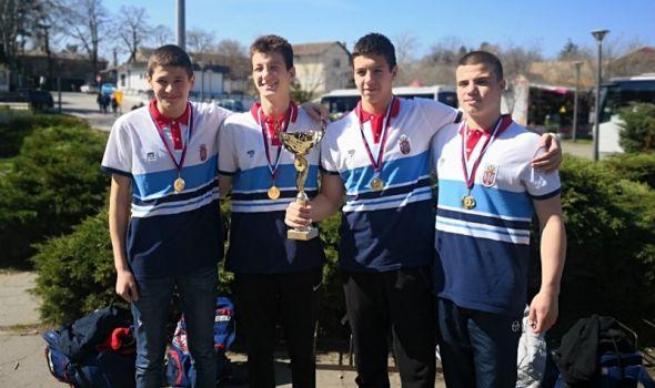 Kadeti Radničkog osvojili Uskršnji turnir sa reprezentacijom Srbije