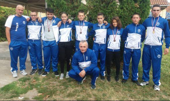 Karatistima Juniora četiri medalje u Čačku