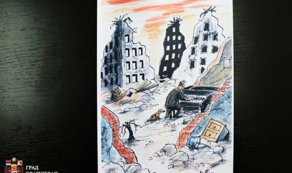 Gran pri 20. Međunarodnog salona antiratne karikature autoru iz Španije