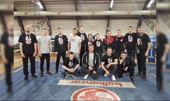 Kragujevačkim kik-bokserima 20 medalja na Prvenstvu Centralne Srbije