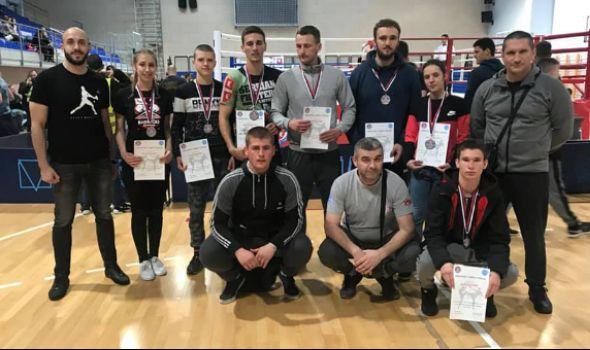 Kik-bokseri Radničkog osvojili šest medalja u Beogradu