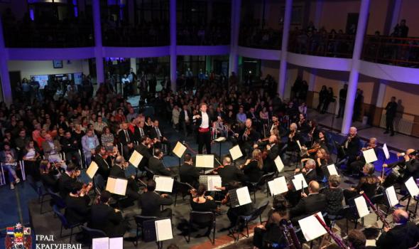 Kiparski simfonijski orkestar oduševio Kragujevčane