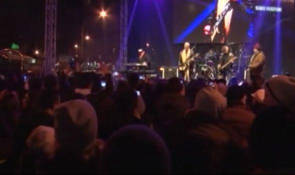 Kragujevčani uz KONCERT i VATROMET dočekali Srpsku novu godinu