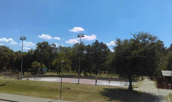 Popularni Koš u Velikom parku dobija novi izgled