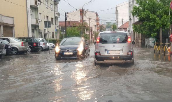 Vodotokovi u Kragujevcu pod kontrolom, problem kišna kanalizacija