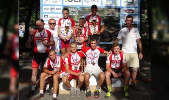 Kragujevačkim biciklistima 13 medalja u Niškoj Banji
