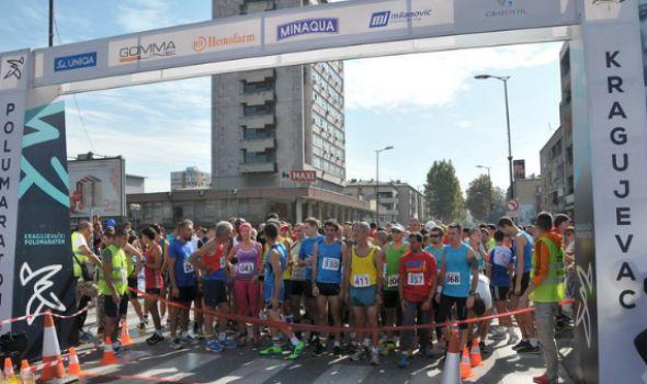 Kragujevački polumaraton 1. oktobra, počinje prijavljivanje