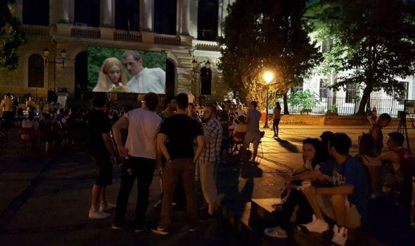 "KUB: Projekcija filma ""Leptirica"" na Đačkom trgu"