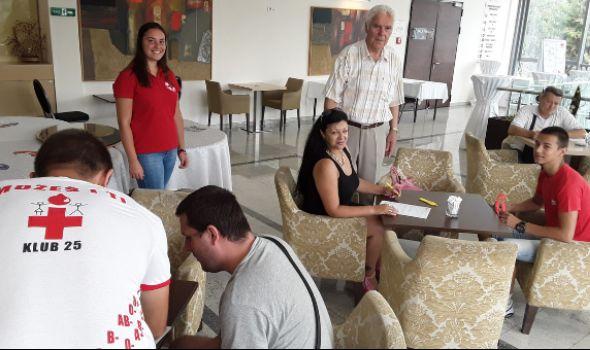 """Akcija dobrovoljnog davanja krvi u hotelu """"Kragujevac"""""""
