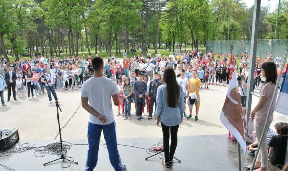"""Kragujevac – grad za sve: """"Dan sa porukom"""" u Velikom parku"""