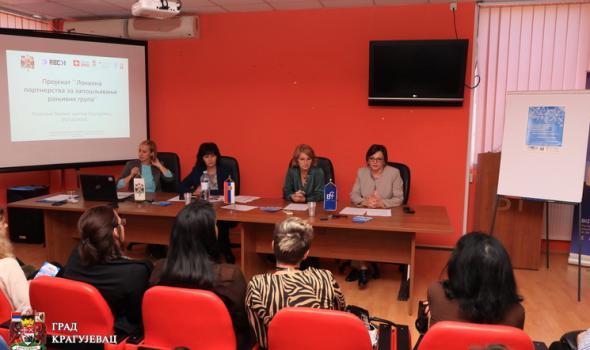 Lokalna partnerstva za zapošljavanje ranjivih grupa: Socijalno uključivanje mladih i žena bez kvalifikacija