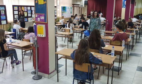 Mali maturanti danas polažu srpski jezik