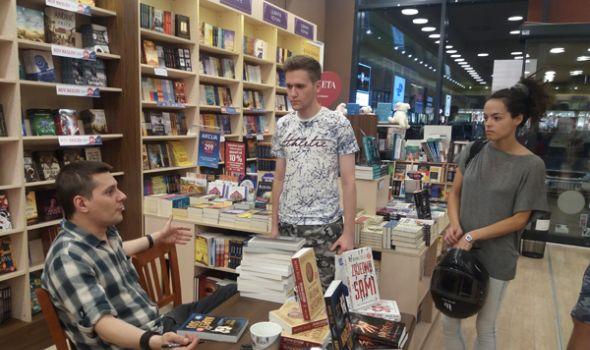 Higijena nesećanja: Marčelo promoviše novi roman u Kragujevcu