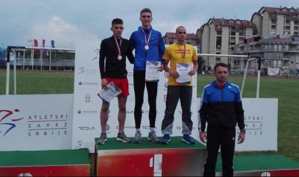 Kragujevačkim atletičarima šest medalja u Kruševcu (VIDEO)