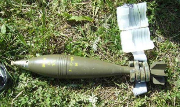 Pronađena minobacačka mina, danas uništavanje