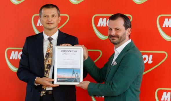 MOL Serbia i mađarska Nacionalna služba za naplatu putarine potpisale sporazum o proširenju saradnje u Kragujevcu