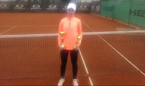 Kragujevačka teniserka Natalija Senić 337. u Evropi