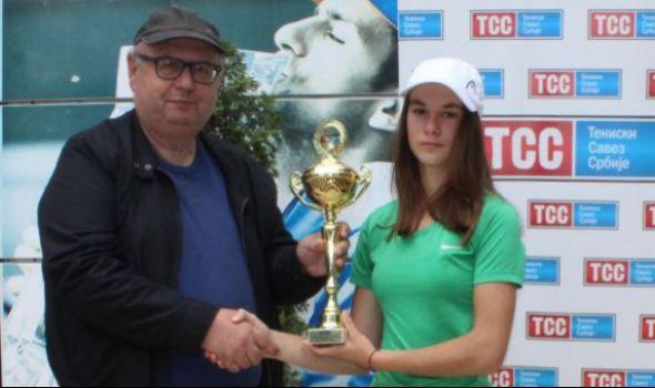Kragujevčanka Natalija Senić vicešampionka Letnjeg prvenstva Srbije